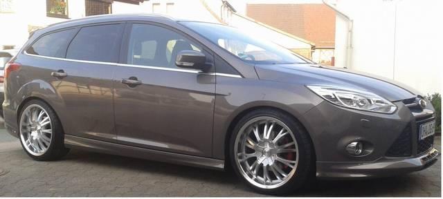 Ford focus titanium 1 6 l ecoboost 134 kw 182 ps for Brisbane braun metallic ford
