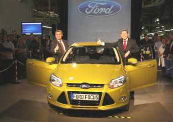 Ford Focus Produktion gestartet